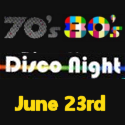 Charity 70s and 80s Disco Night