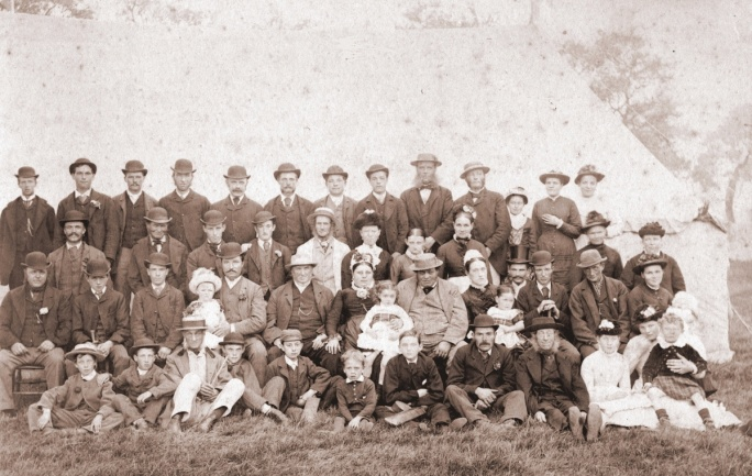 Group photo, 1897?