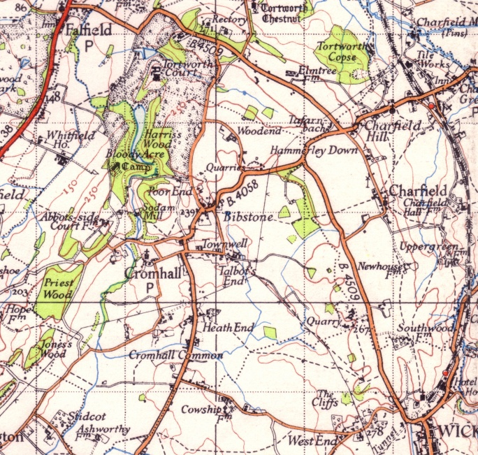 Ordnance Survey One-Inch Map, 1930-1946