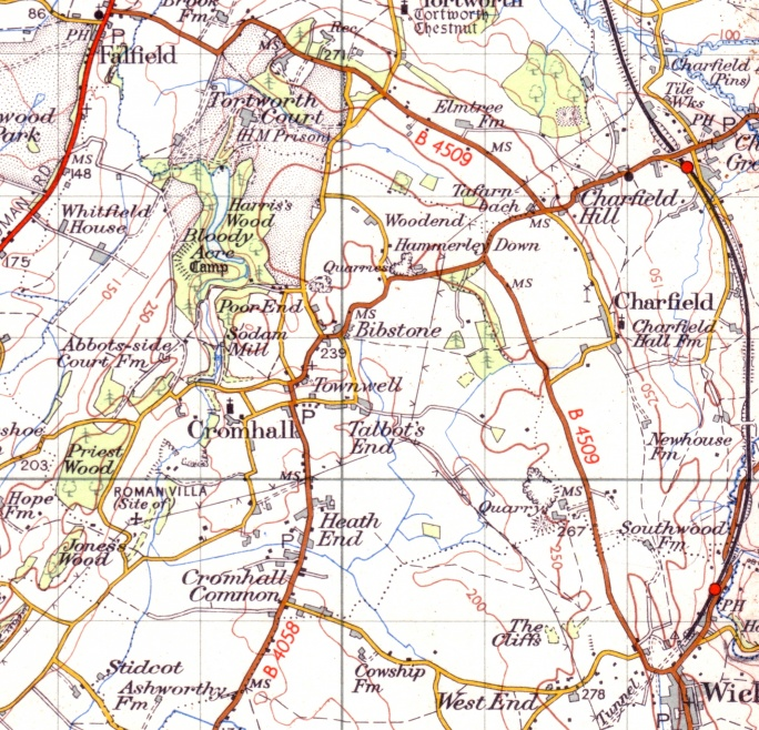 Ordnance Survey One-Inch Map, 1949-1954