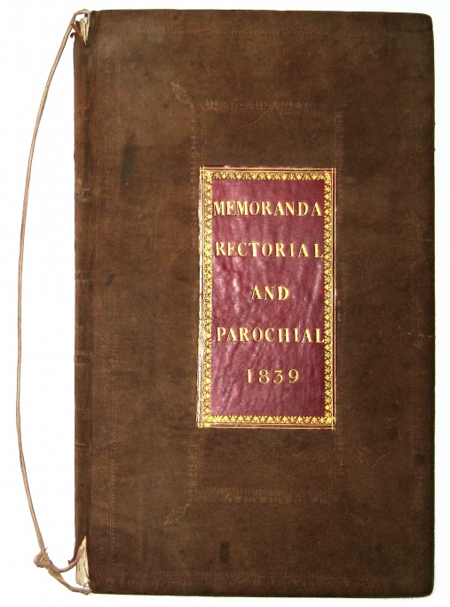 Memoranda Rectorial and Parochial 1839