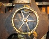 Church clock mechanism (detail)