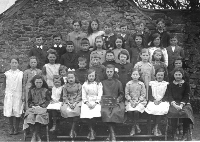 St. Andrew's School, class photo, 1922