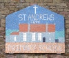 St. Andrew's School sign